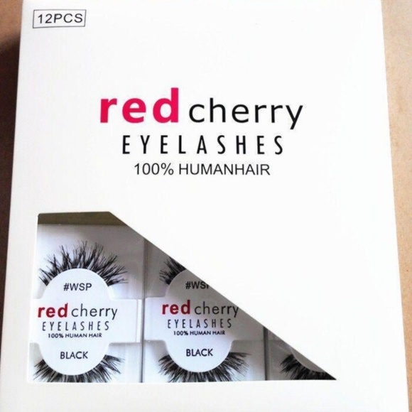 Red Cherry Lashes Makeup Wispies Wsp Poshmark